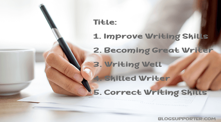 a study on improving the writing Improving college and journal of technical writing.