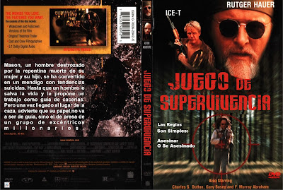 Cover, carátula, dvd: Juego de supervivencia | 1994 | Surviving the Game