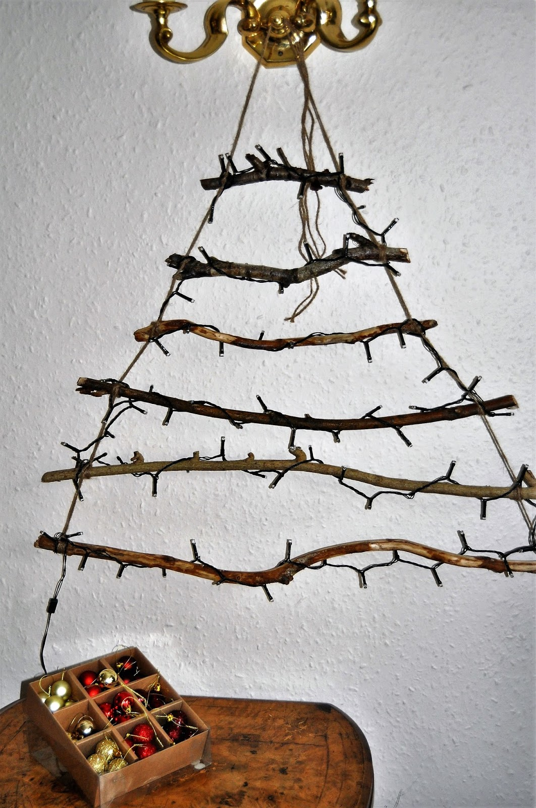 Getting crafty for Christmas - Create a Christmas Tree Wall Hanging, photo by modernbricabrac