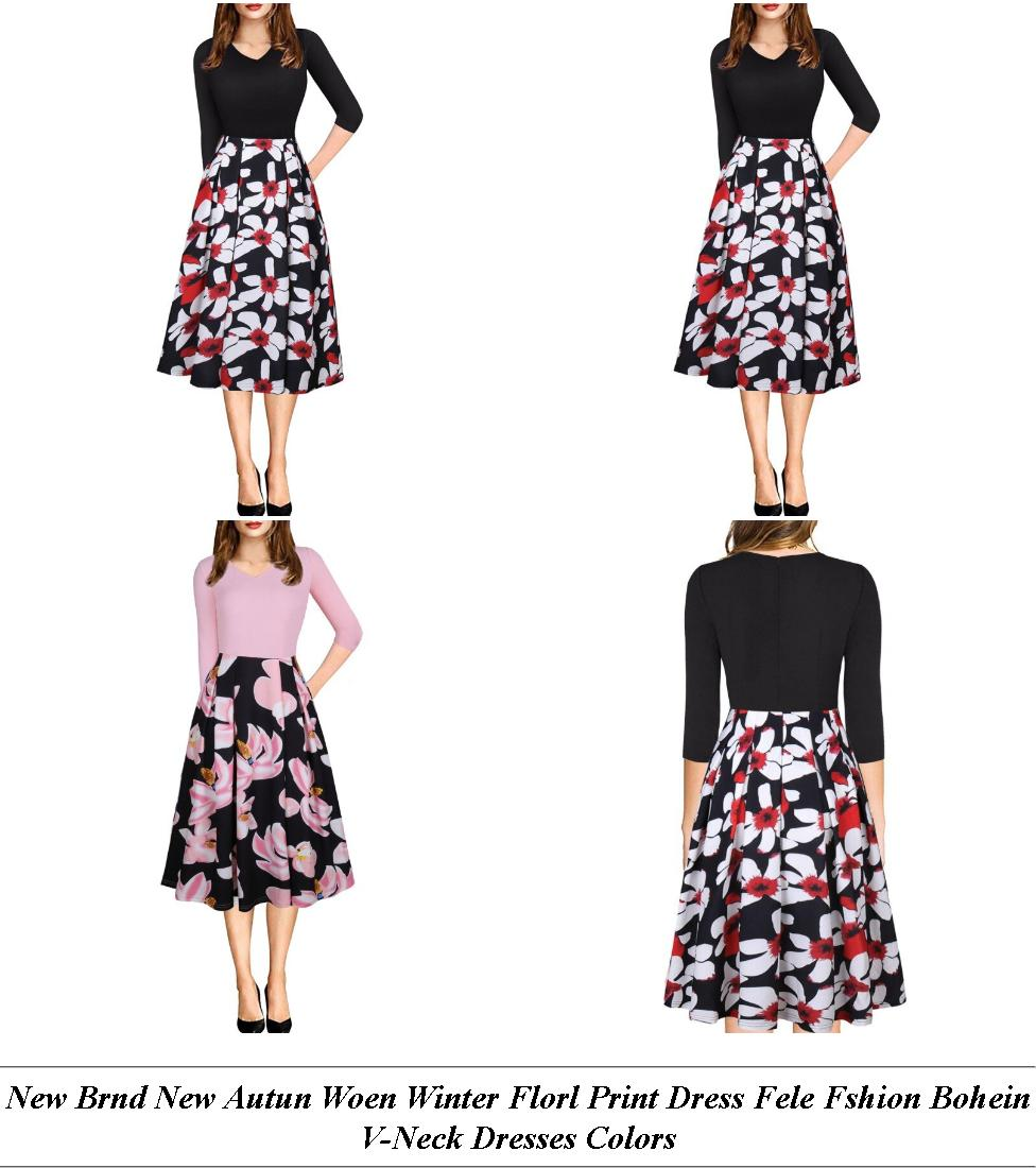 Summer Beach Dresses - Online Sale Sites - Midi Dress - Cheap Online Clothes Shopping