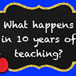 What Happens in10 Years of Teaching?