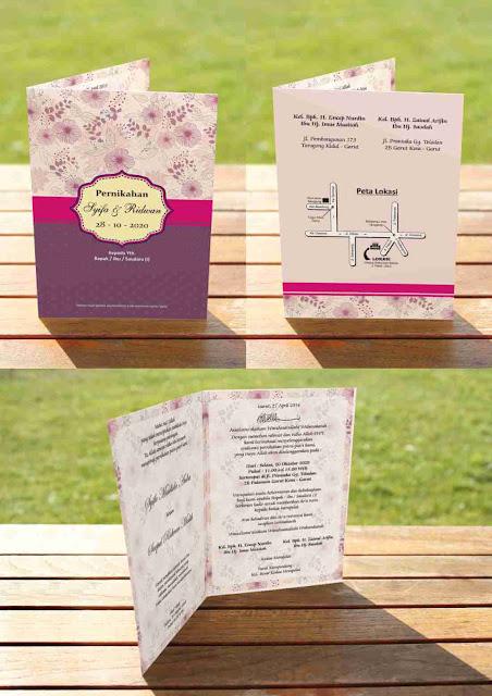 Download Template Undangan Pernikahan Elegan Word yang Bisa Diedit