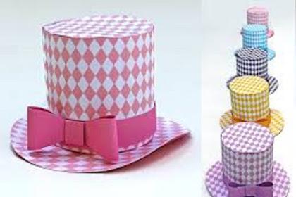 Cara Membuat Topi Dari Kotak Susu Bekas