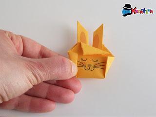 coniglietto origami fai da te
