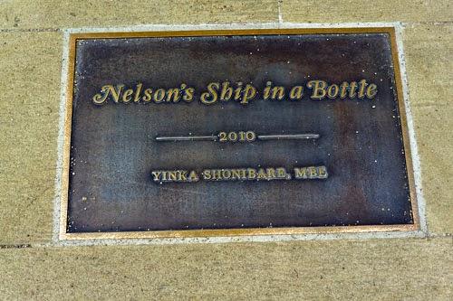 Nelson's Ship in a Bottle Greenwich