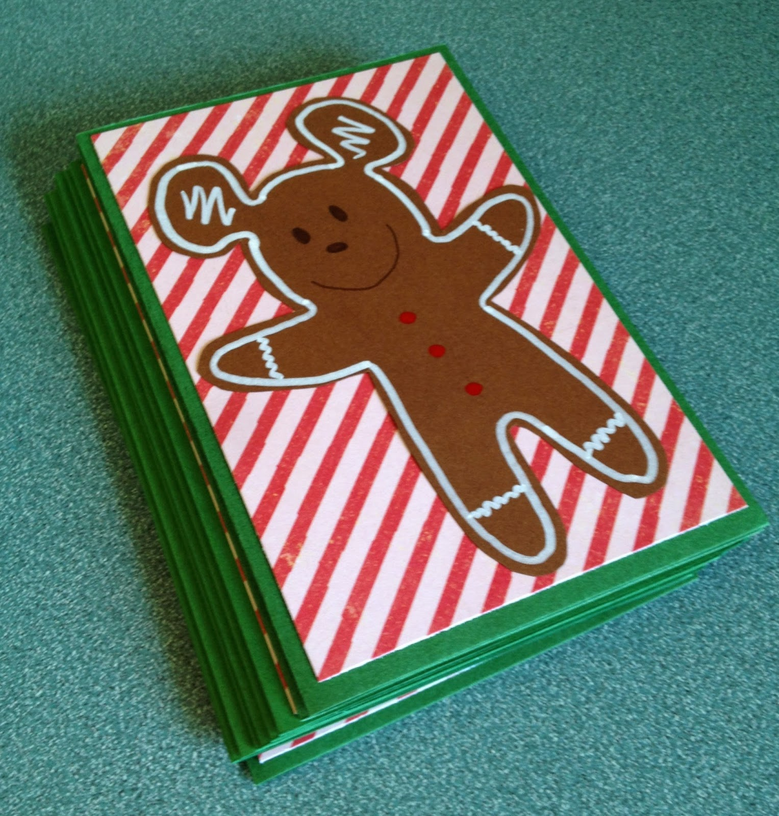 My Disney Life: DIY: Gingerbread Mickey Christmas Cards