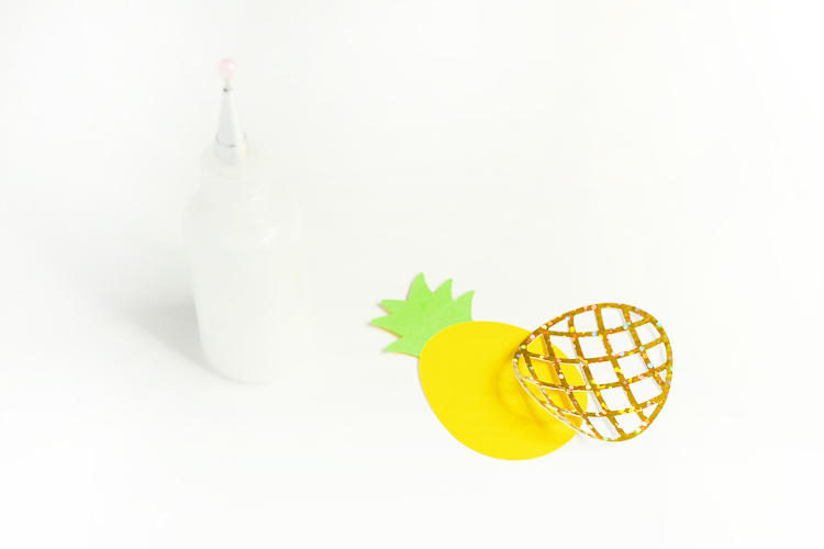 attach pineapple together