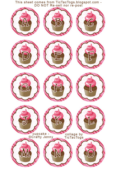 http://tictactogs.blogspot.com/2014/09/free-cupcake-bottle-cap-alphabet-images.html