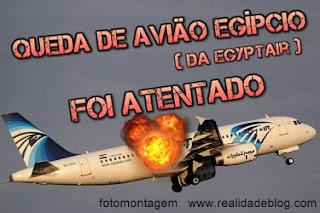 avião egyptair atentado