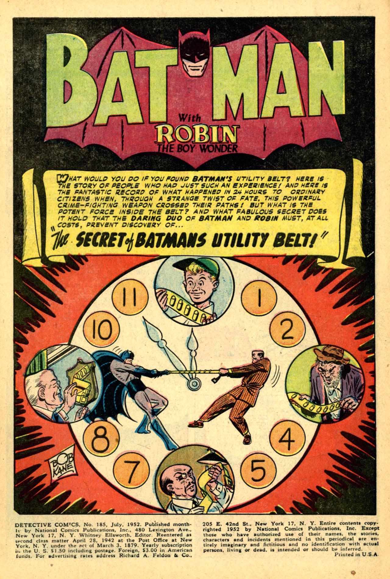 Detective Comics (1937) 185 Page 2