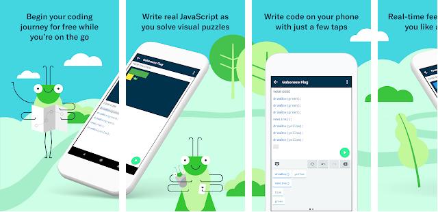 6 Aplikasi Terbaik Untuk Belajar Coding Di Android Tahun 2019