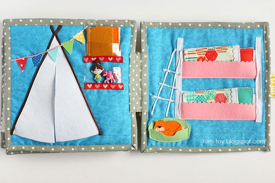 Cora's dollhouse, travel dollhouse, quiet busy book for girls, развивающая книжка, кукольный домик, детская комната