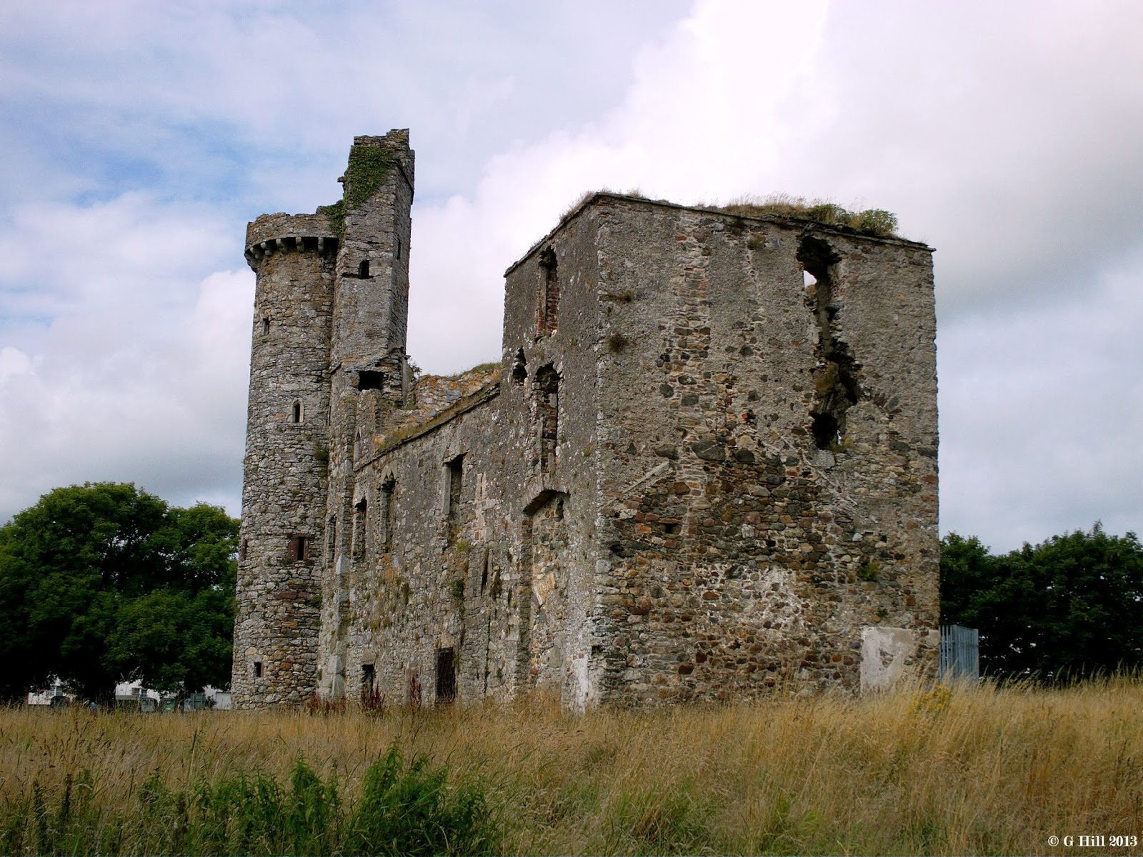 Ireland In Ruins: Fethard Castle Co Wexford