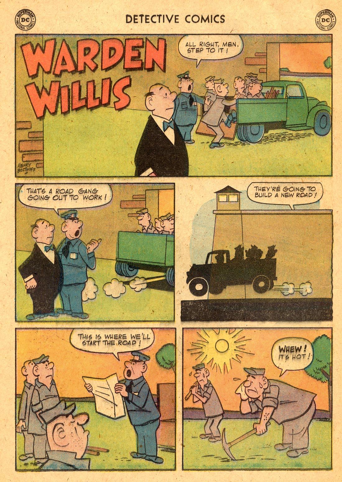 Read online Detective Comics (1937) comic -  Issue #255 - 16