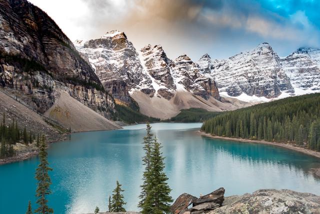 Moraine Lake - Alberta Canada