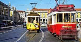Lisboa, Portugal, eletrico