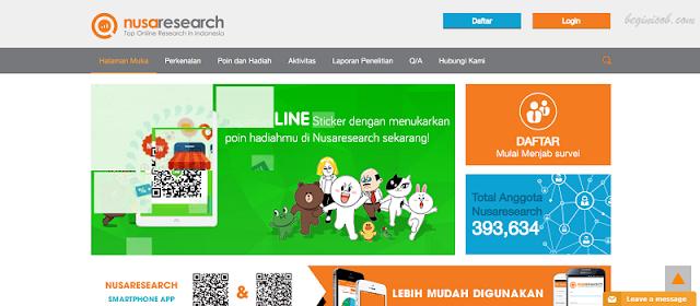 Pulsa gratis telkomsel dari mkios dari survey Nusaresearh