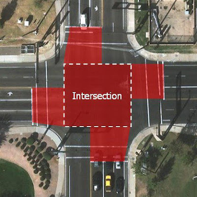 Arizona law aims to redefine street intersection for red-light runners.