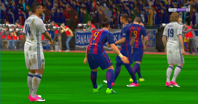 PES 2017 Best Graphic Patch v4 All In One + Anti Lag