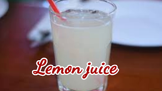 image of lemon juice