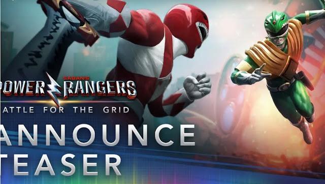 إعلان عن موعد صدور لعبة Power Ranger: Battle For The Grid