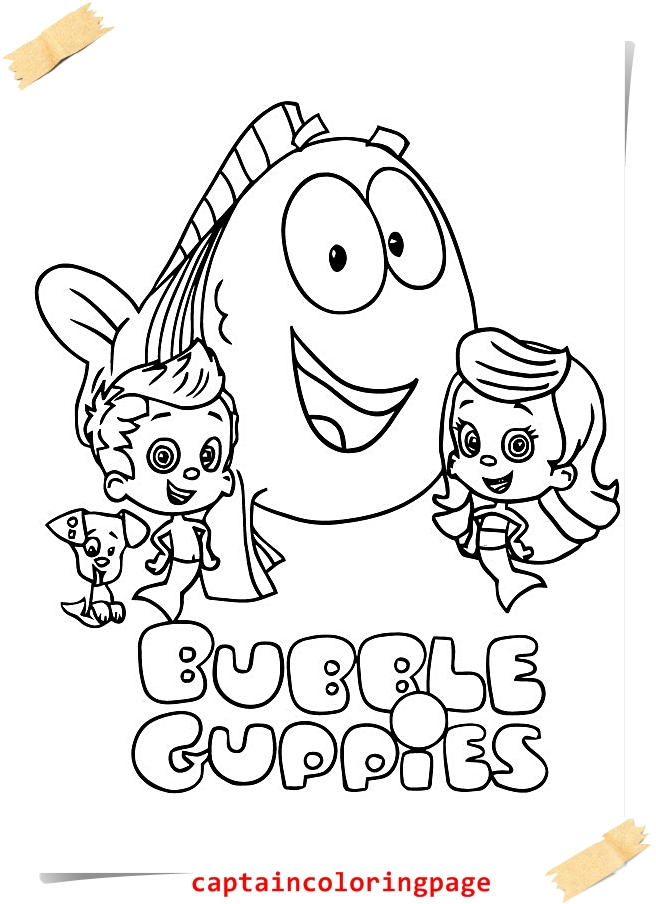 adult bubble guppies colouring bubble guppies coloring pages nick ... | 904x656