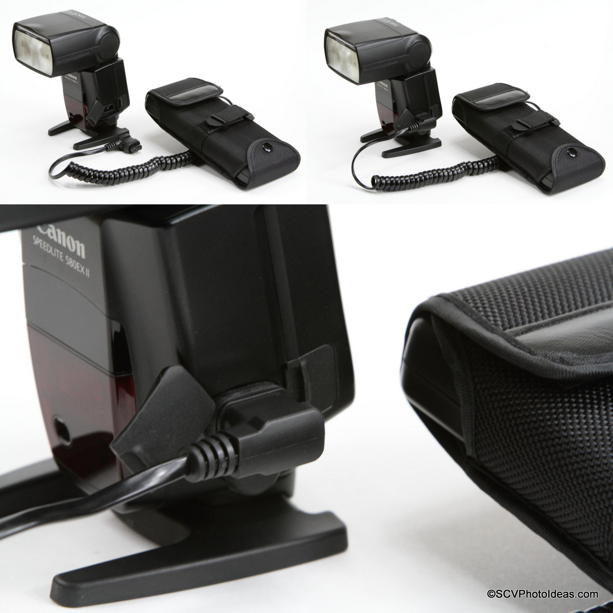 YongNuo SF-18 External Battery with Canon Speedlite 580EX II