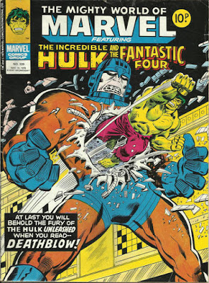 Mighty World of Marvel #320, Hulk vs Sentinels