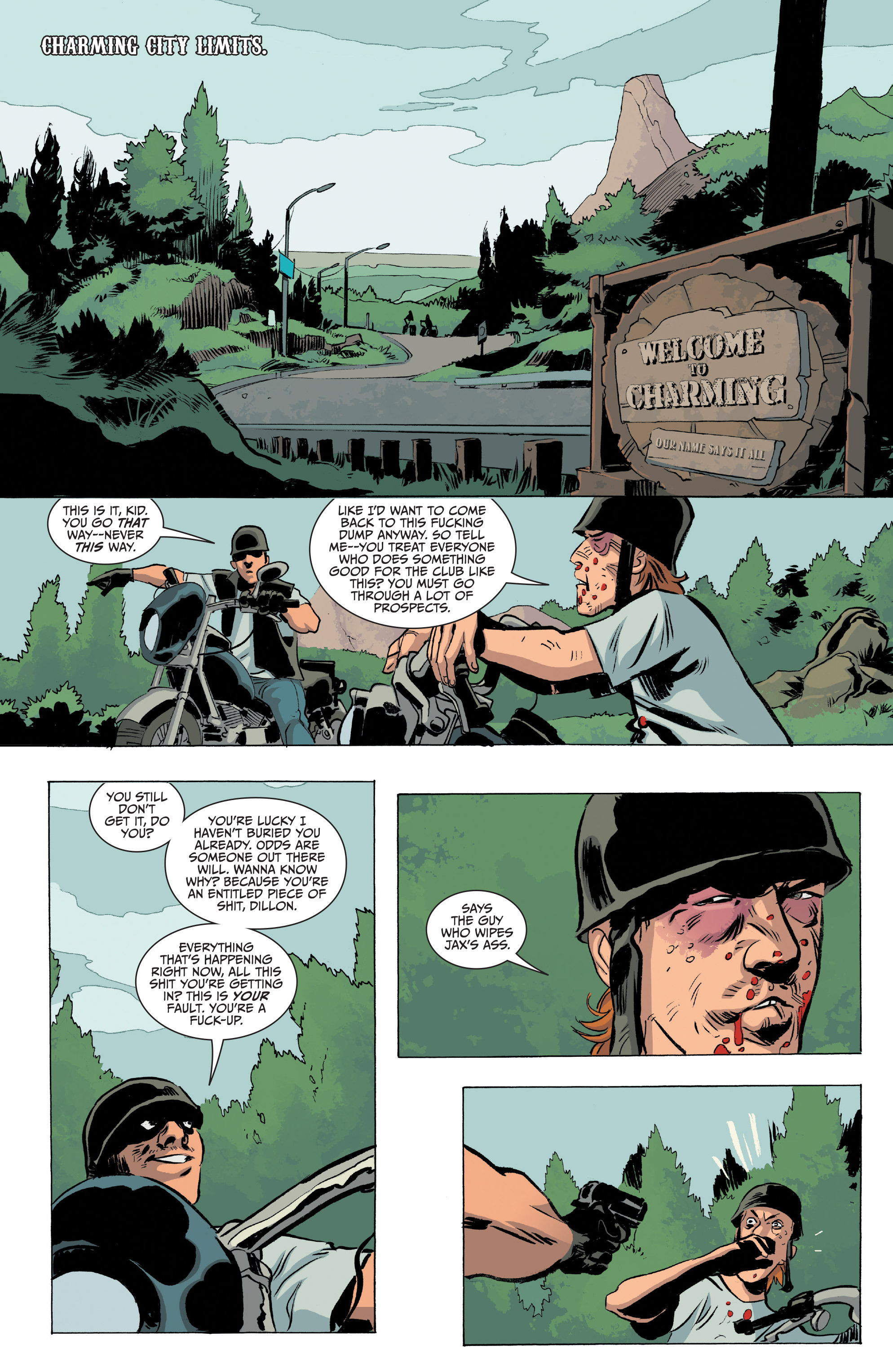 Read online Sons of Anarchy comic -  Issue #20 - 6