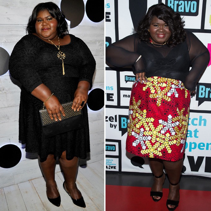 gabby from empire series has lost all her weight and she