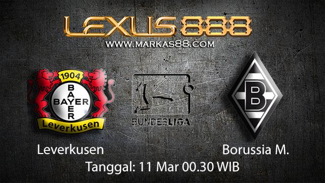 BOLA88 - PREDIKSI TARUHAN BOLA LEVERKUSEN VS BORUSSIA MONCHENGLADBACH 11 MARET 2018 ( GERMAN BUNDESLIGA )