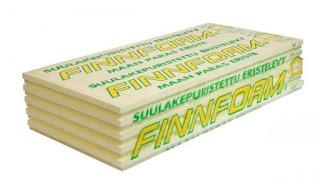 Finnfoam plokštės