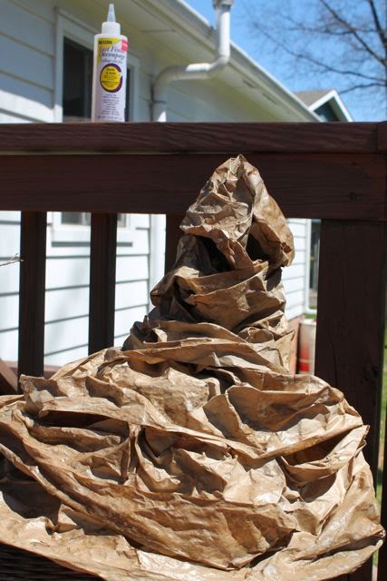 Homemade Sorting Hat via www.happybirthdayauthor.com
