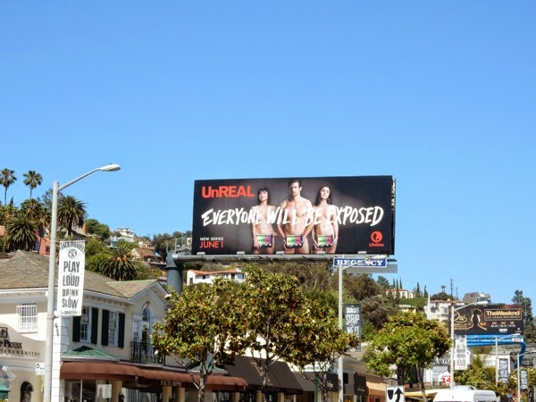 UnREAL Lifetime series premiere billboard