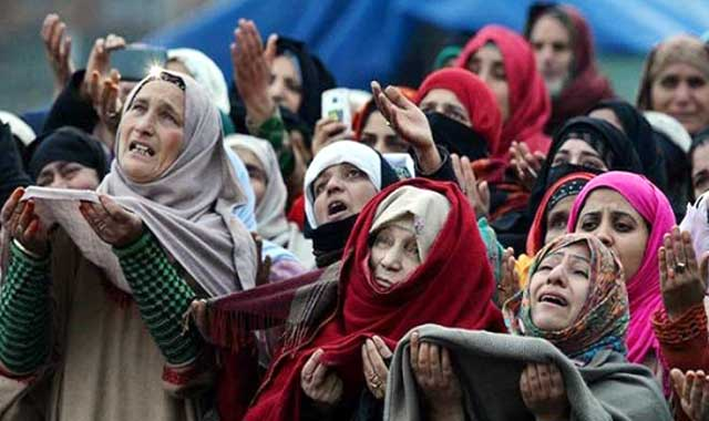 The scourge of food is going on all over Kashmir