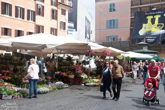 Campo di Fiori - citytrip Rome