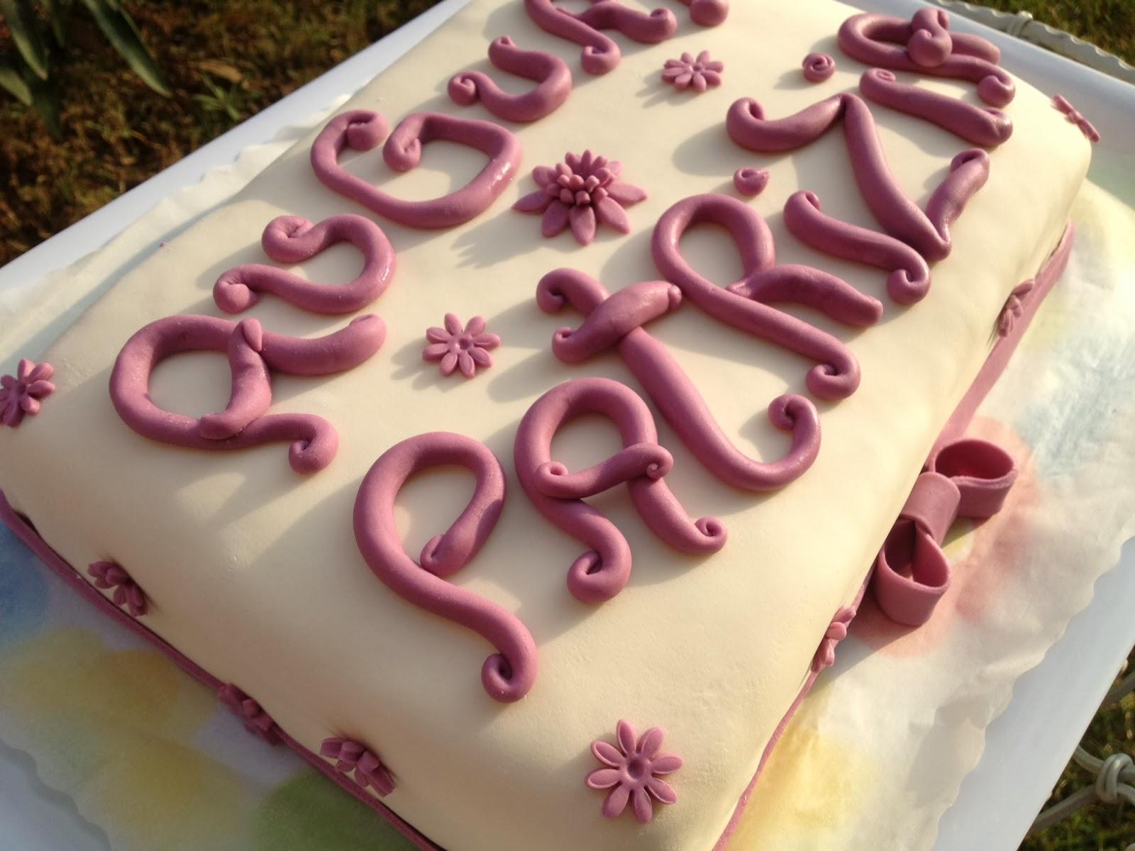 Torta Compleanno Patrizia.I Dolci Di Flori Torta Patrizia