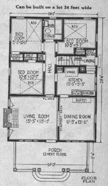 Sears Columbine house model