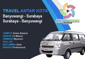 Travel Banyuwangi Surabaya Murah