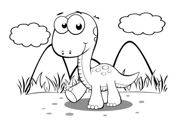 40 desenhos de dinossauros para colorir, pintar, imprimir! Dinossauro pintar moldes e riscos