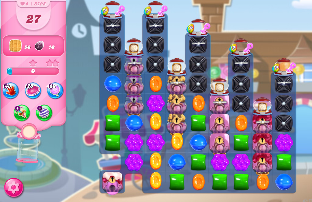 Candy Crush Saga level 5795