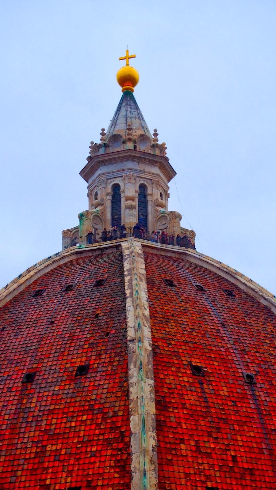 Florence Dome: Emilan: Florence: Climbing Brunelleschi's Dome