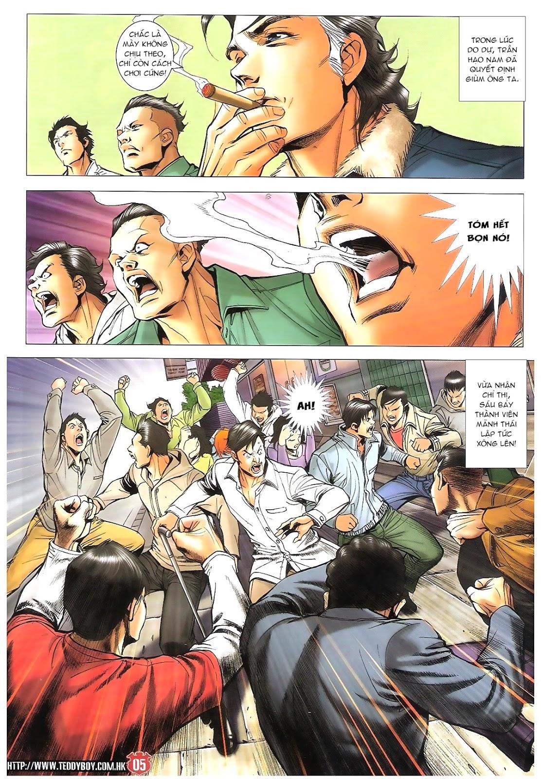 Người Trong Giang Hồ chapter 1696: giết vào vượng giác trang 4