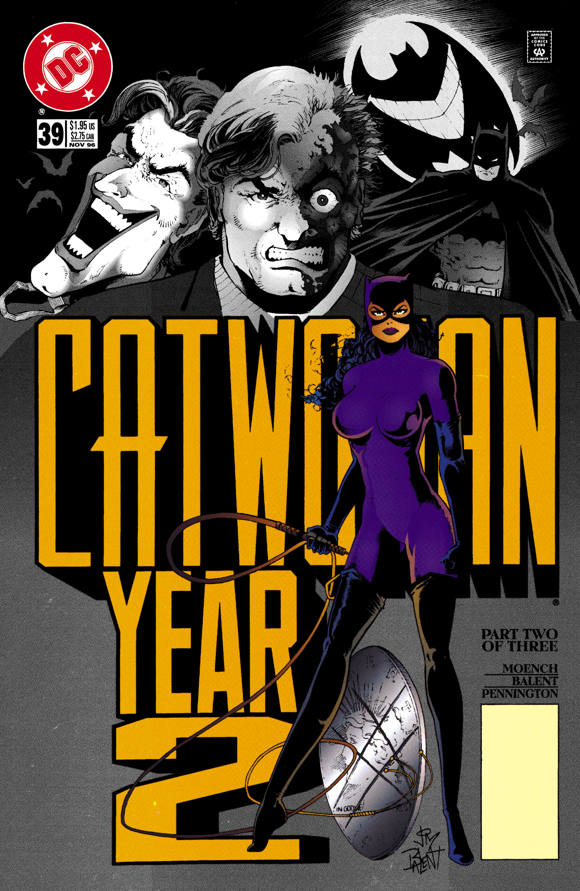 Catwoman (1993) Issue #39 #44 - English 1