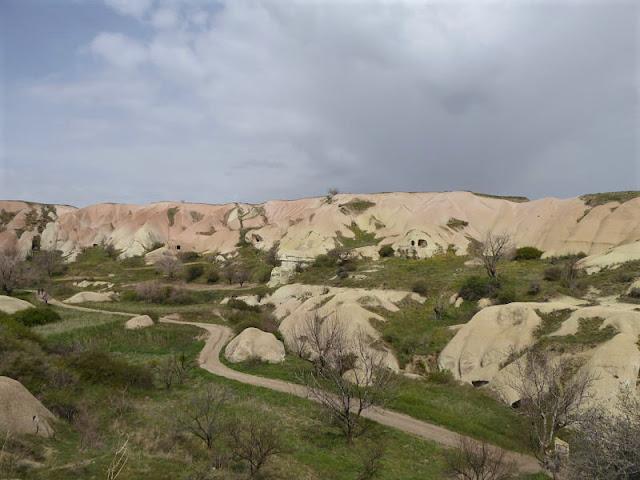 valle dei piccioni deviaizone per uchisar
