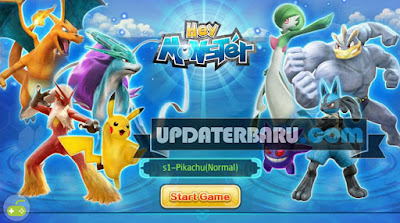Hey Monster(SEA) Apk Full Data Android New Version hack mod cheat cara