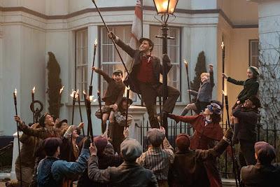 Mary Poppins Returns 2018 Disney movie Lin-Manuel Miranda Emily Blunt