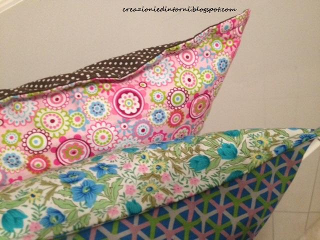 ciscino rosa e verde in pula di farro