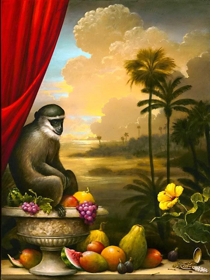 Férias - Kevin Sloan e suas pinturas mágicas