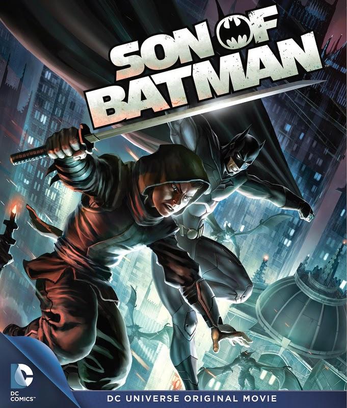 Son of Batman - El hijo de Batman (2014) [DVDRip][Castellano][Animacion.Accion]